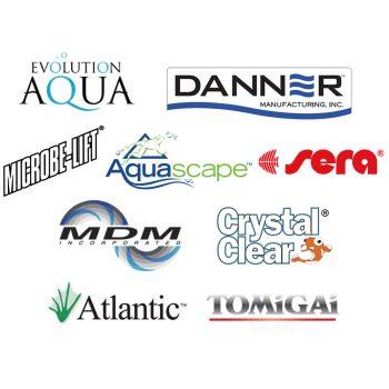 Pond supplier logos.