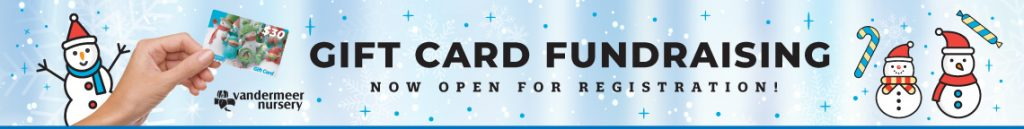 gift card fundraising banner